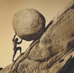 Greek King Sisyphus